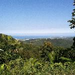 View of Ocean and Vieques island from house