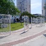 Plaza frente al municipio