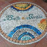Mosaici モザイク画 entrance