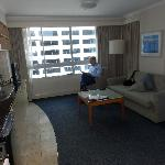 Very pleasant & roomy with full kitchenette