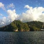 Beautiful St Lucia w captain Sam