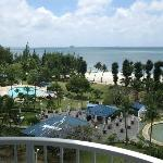 View of resort grounds from Ocean view South Wing #2