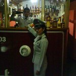 Our bar the only streetcar in Cuba...
