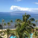 view from room in Hyatt Maui