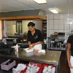 The Kitchen and the friendly staff