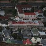 the gust house as seen from Signal Hill