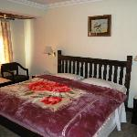 Holy Himalaya Hotel - King bed room