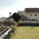 Holy Himalaya Hotel - rooftop terrace