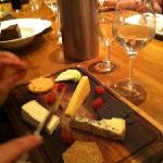 my wifes cheese board, very good