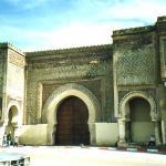 Medina di Meknes: porta Bab El-Mansour