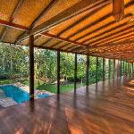Pool-side Yoga Studio