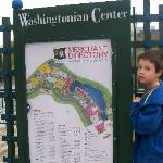 map of washingtonian center-lots of places to dine, shop