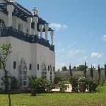 Vue extérieur de la Villa