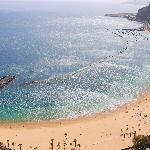 Beach north of Santa Cruz