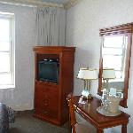 Very small room at the Chateau Laurier