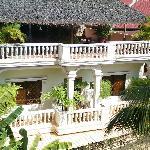 Vue de la guesthouse