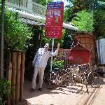 Vélos gratuits à disposition pour aller visiter les temples tranquillement
