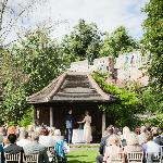 Wedding Ceremony in the Summer House, Gray's Court