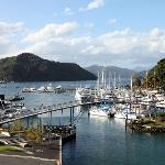 View of Picton Harbor from Room
