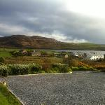 View from front door of Hazelbrook Farm, April 2012