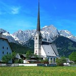 Wallfahrtskirche Maria Alm Foto