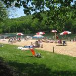 Mt. Gretna Lake & Beach Foto