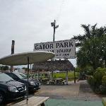Gator Park, l'entrée