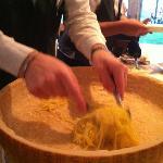 Fettucine al Parmegiano... Great!