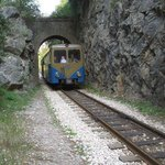 Vouraikos Canyon - Cog Railway Photo