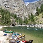 Middle Fork Salmon River Idaho - Frank Church Wilderness - Drift Boats & Rafts - Helfrich