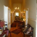 Inside main house - hallway