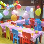 The lovely party rooms at Imagination Street