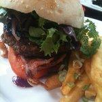 monk burger
