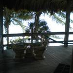 View of the suite's deck