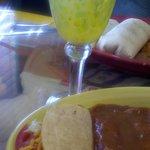 margarita, burrito, enchilads