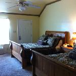 Our creek side room