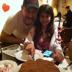Giovanni surprised my daughter with a homemade tiramisu cake for her birthday..Delicious!!