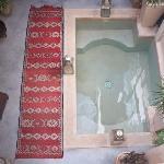 le patio et bassin