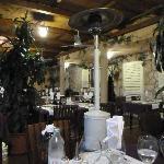 Interior of Eden restaurant