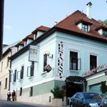 Pension Kuria, view from the street. A hidden Gem in Banská Bystrica!