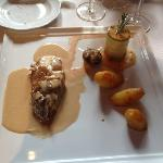 veal with champagnesauce