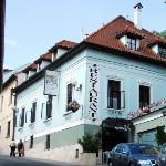 Pension Kuria, view from the street