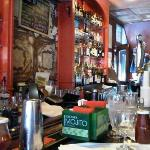Chez Oscar at the bar