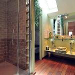 La salle de bain de la Chambre Vigneronne