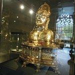 Gold scupture of St. Servatius
