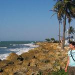 mar altura ciudad amurallada