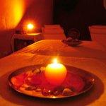 relax e coccole a lume di candela