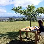 Breakfast in the open
