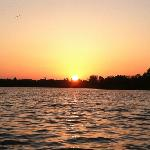 Sundown on Pine Island Sound