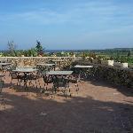 Terasse des Restaurants / Outside dining area